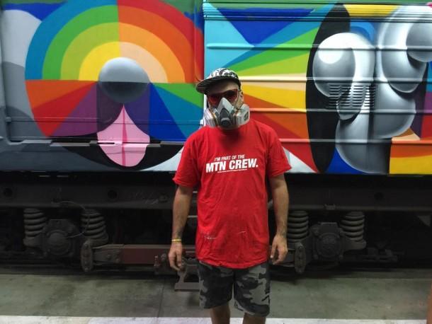 Okuda street art