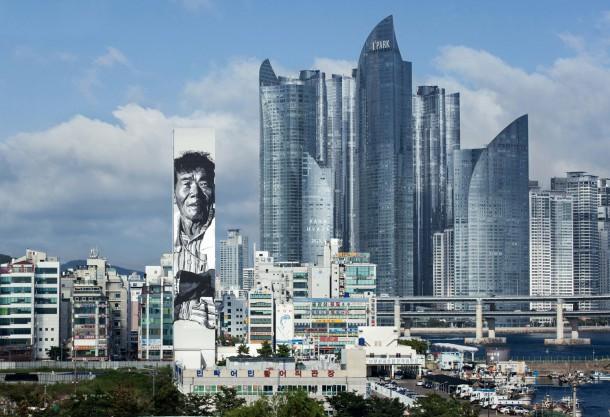 ECB - Pêcheur, Busan. Korée 2012