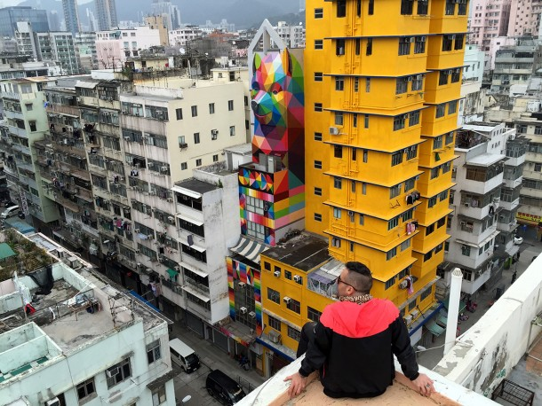 Rainbow thief - Hongkong