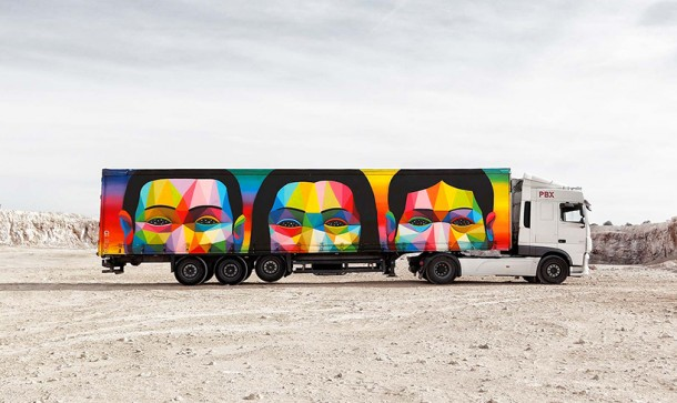Truck art project, 2016 - Spaine