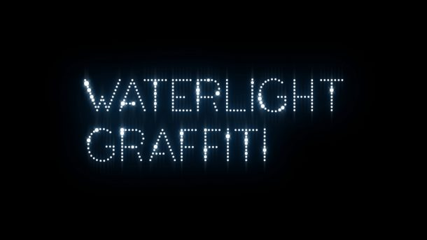 waterlight graffiti