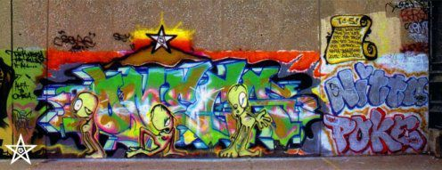 doze green graffiti