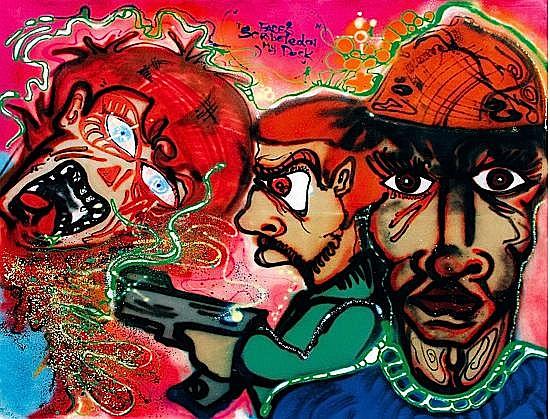 a-one graffiti