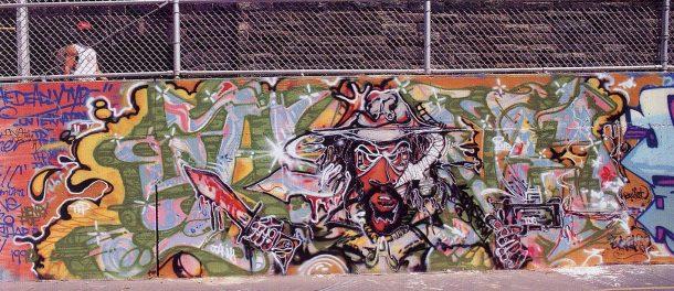 a-one urban art