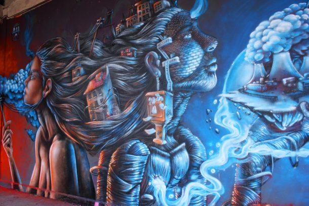 aérosol graffiti