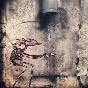 Street art blog strip art